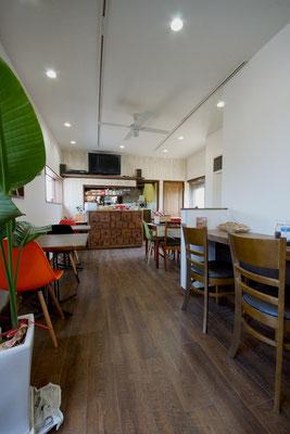Cafe&Dining Kusabe 播磨町 店内