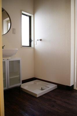 戸建住宅 リノベーション工事 工事完了 脱衣室