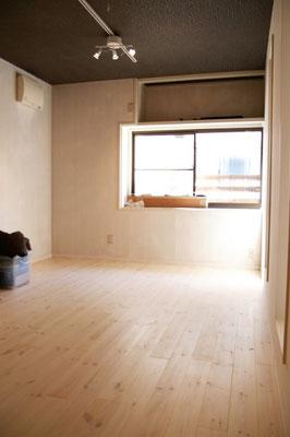 戸建住宅 リノベーション工事 工事完了 洋室