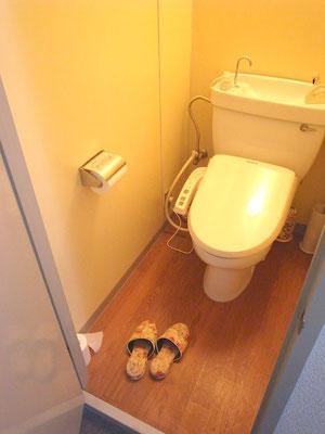 リフォーム トイレ 改装前