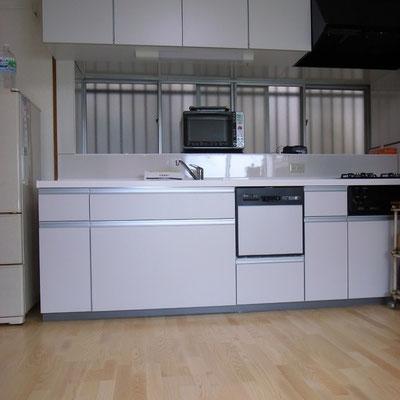 戸建リフォーム 施工後 システムキッチン交換