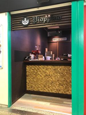 テイクアウトのカフェ カウンター