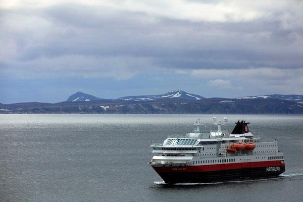 Hurtigruten - Honningsvag , Noordkaap