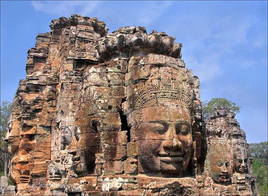 Angkor Thom ;De Bayon