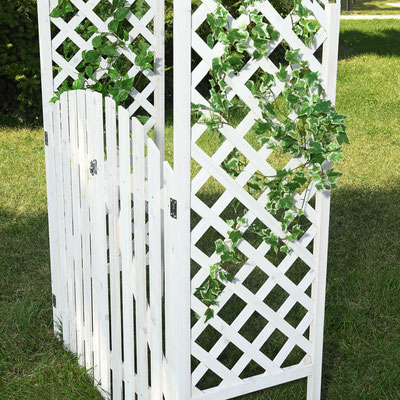 arco +grigliato +rampicanti +cancello +giardino