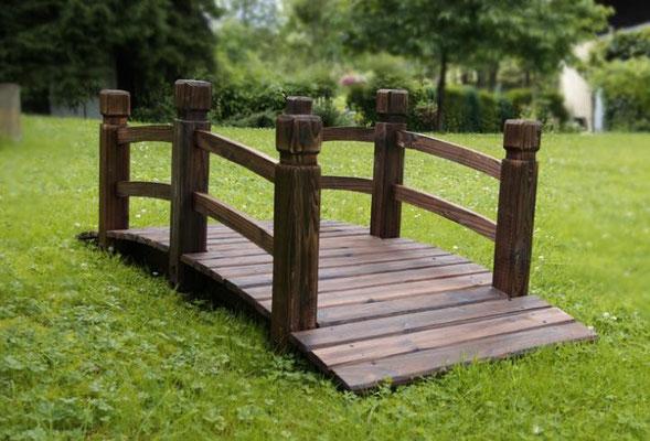 Ponte decorativo in legno massello benvenuti su sandro shop for Giardino rustico traliccio decorativo