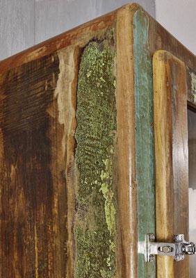 armadio +vetrina +legno riciclato