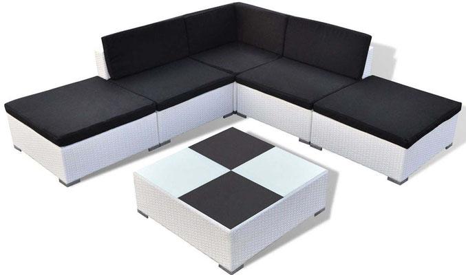 divano +polyrattan +giardino +arredo