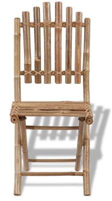 sedie +bambù +bamboo +rotondo +pieghevole +arredo +esterni +sandro +shop +vendita +online