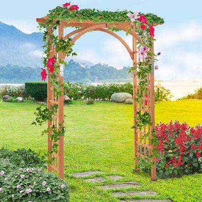 #traliccio #pergola #arco #grigliato #legno #impregnato #giardino #sandro shop