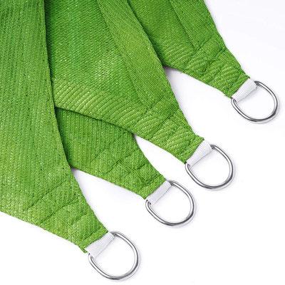 tenda #vela #ombreggiante #traspirante #HDPE #quadrata #rettandolare #trapezio #verde #lime
