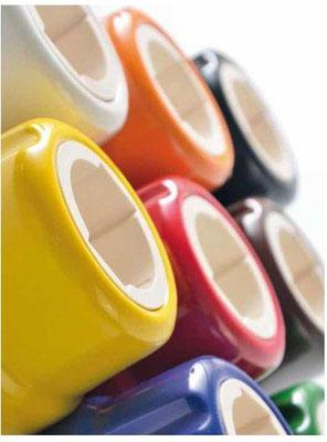 presa #colorato #ceramica #universale #shuko #porcellana