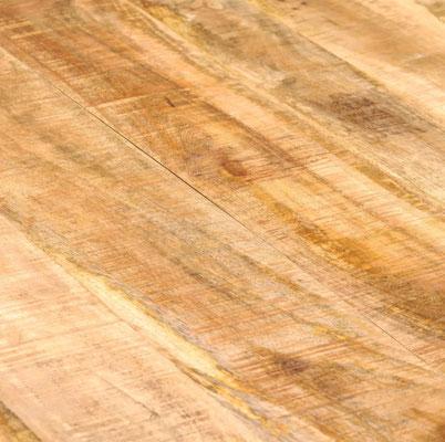 tavolo industrial #stile #pranzo #acciaio #legno #mango