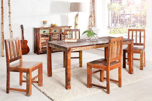tavolo +legno riciclato +legno +arredo +vintage +sandro shop +cucina +vendita +online +spedizione