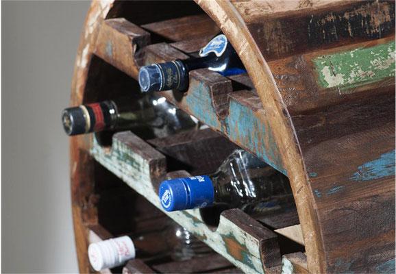 cantinetta +portabottiglie +mobile +bar +arredo +legno +riciclato +vintage