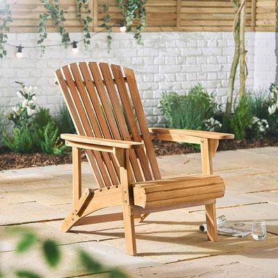 adirondack #muskoka #legno #acacia #americana # canadese #sedia