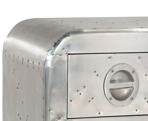 porta tV #aviator #sandro #shop #alluminio #industrial #vintage #airman #aircraft #style