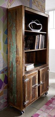 #mobile #legno #riciclato #vetrinetta