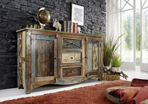 credenza #legno #riciclato #recupero #arredo #industriale #vintage #150cm