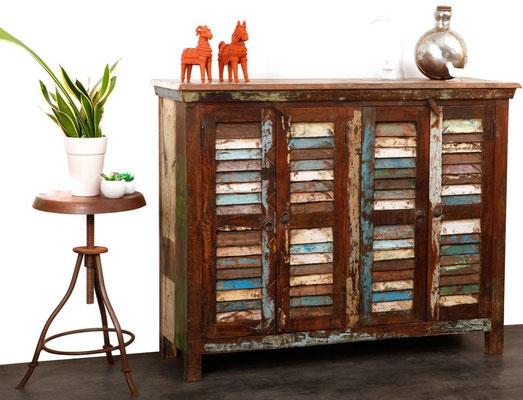 armadio vintage legno riciclato