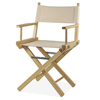 sedia regista #legno #ecrue