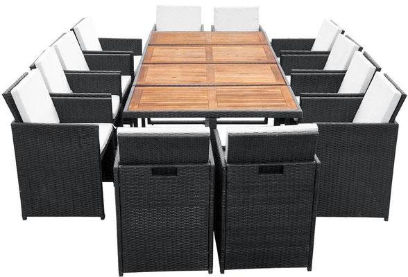 tavolo +sedie +pranzo +giardino +garden +polirattan +polyrattan +rattan +arredo +esterno +sandroshop +online +vendita +12