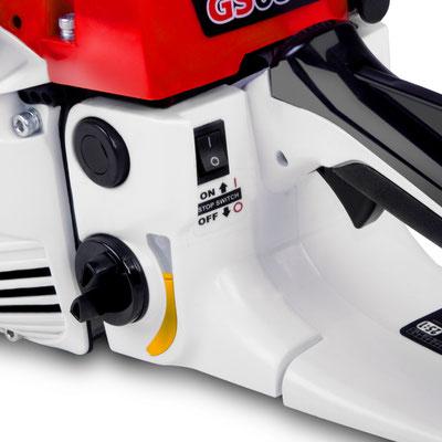 motosega +sandro shop +75cc +leggera +scoppio +barra +lama 60cm. +greencut