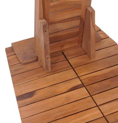 doccia #teak #legno #giardino #esterno