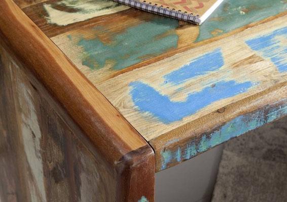 scrivania +legno +riciclato +vintage +sandro shop +vendita +online +shopping
