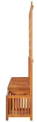 pergola #acacia #giardino #rampicante #panca #trattata #legno #esterno #giardino