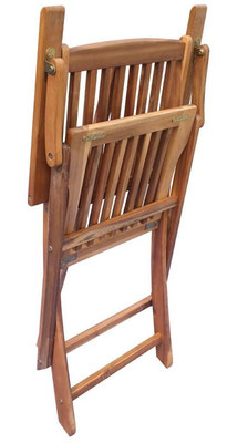 sedia +esterni +giardino +pieghevole +acacia +braccioli