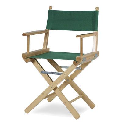sedia regista #legno #verde
