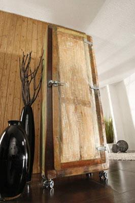 armadio +mobile +legno +riciclato +vintage +frigo +sandro +shopping