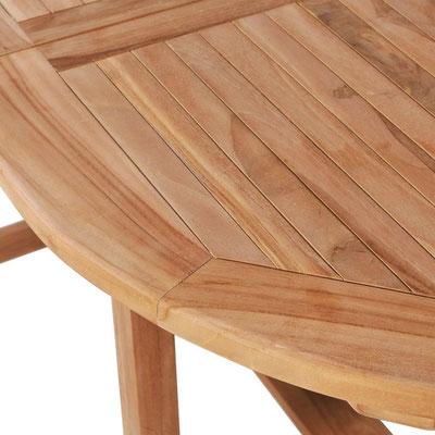 tavolo legno teak +allungabile +giardino +sandro shop