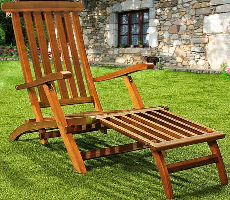 sedia +sdraio +prendi sole +giardino +outdoor +garden +arredo +legno +acacia +sandro +shopping +online +shop +giardino