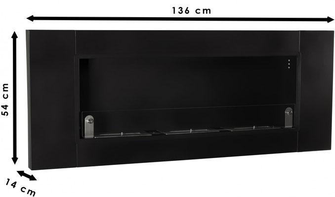 biocaminetto 136cm