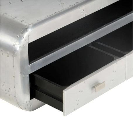 mobile #porta TV #aviator #sandro #shop #alluminio #industrial #vendita #online