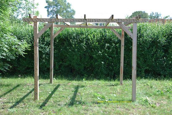pergola legno 3x3 m legno nordico impregnato