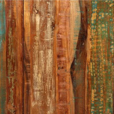 tavolo #pranzo #legno #massello #riciclato #recupero #vintage #pub #bar #industriale