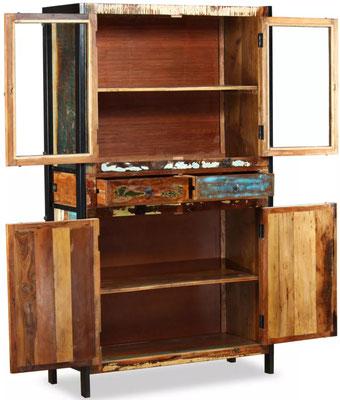 credenza #armadio #vintage #industriale #legno #riciclato #recupero