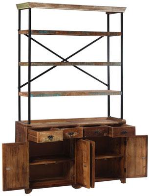 credenza #legno #riciclato #massello #artigianale #vintage
