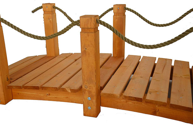 ponte #decorativo #legno #giardino
