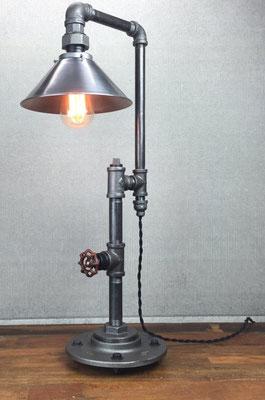 lampada +tubi +raccordi +idraulici +vintage +Steampunk +industriale +loft +urbano +fai da te +abat jour + da tavolo