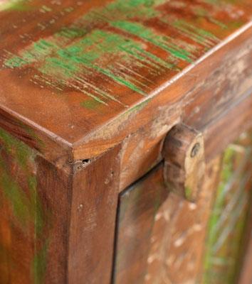 arredo legno riciclato multicolore