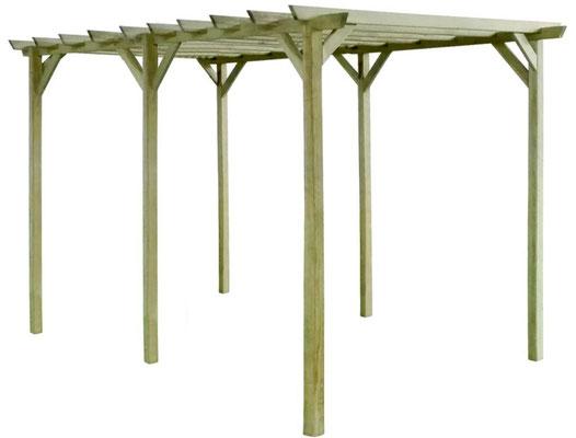 gazebo #legno #impregnato #trattato #autoclave