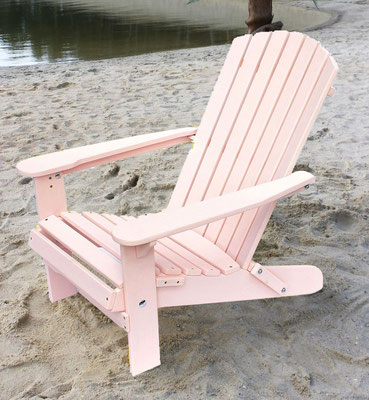 muskoka +adirondack +sedia sdraio +sandro shop +arredo + giardino +legno +acacia +outdoor +rosa