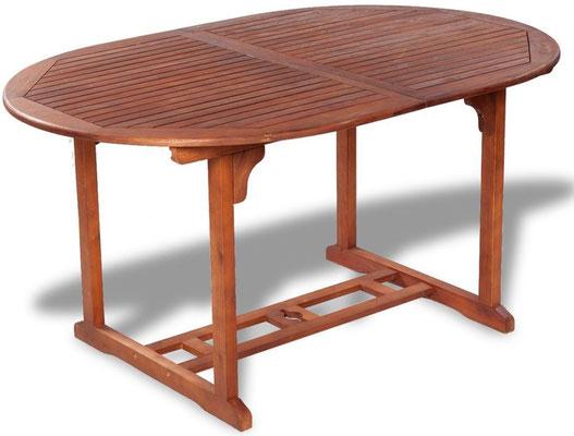 tavolo +legno +allungabile +eucalipto +acacia +2 metri