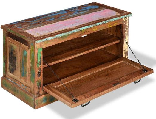 scarpiera +riciclato +legno +vintage +recupero +arredo +sandroshop