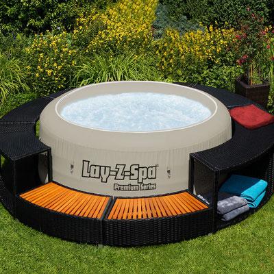 SPA +idromassaggio +piscina +arredo +giardino +outdoor