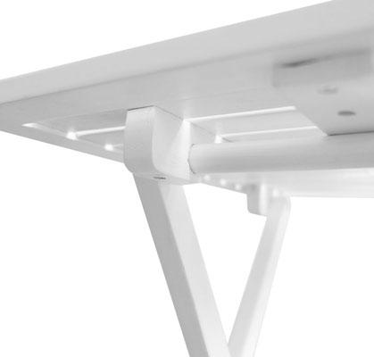 tavolino +pieghevole +giardino +arredo +legno +bianco